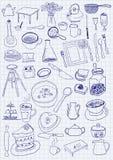 Objets de cuisine Photos libres de droits