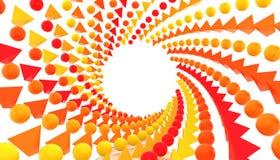 objets de la couleur 3d illustration stock