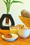 Objets de station thermale de massage et de jour Photographie stock