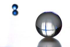 Objets en verre Photographie stock libre de droits