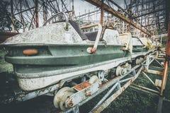 Objets et endroits de montagnes russes perdus à temps Photo libre de droits