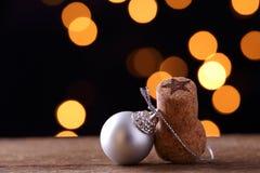 Objets et ornements de Noël Image libre de droits