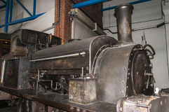 Objets exposés dans le musée ferroviaire national à York, Yorkshire Angleterre Photos libres de droits
