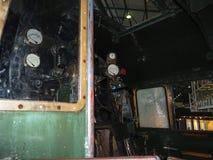 Objets exposés dans le musée ferroviaire national à York, Yorkshire Angleterre Photographie stock