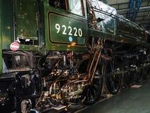 Objets exposés dans le musée ferroviaire national à York, Yorkshire Angleterre Photographie stock libre de droits