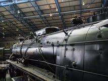Objets exposés dans le musée ferroviaire national à York, Yorkshire Angleterre Images libres de droits