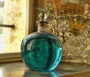 Objets exposés des pharmacies médiévales Photo stock