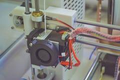 Objets imprimés par l'imprimante 3d Photo stock