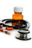 Objets médicaux images stock