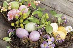 Objets pour Pâques, une durée immobile images libres de droits