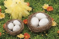 Objets pour Pâques, une durée immobile images stock