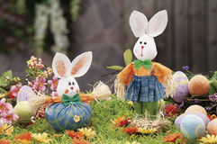 Objets pour Pâques, une durée immobile photo libre de droits