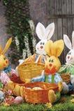 Objets pour Pâques, une durée immobile photos libres de droits