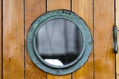 Oblò della barca Immagine Stock