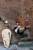 Oblężenie Rocca w Soncino, Lombardy, Włochy, - 6th 2018 i 7th Październik - zdjęcie stock