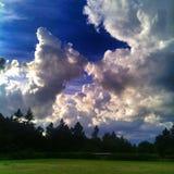 Oblaci Stock Foto's