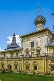 Oblast Rostows der Kreml Yaroslavl Russland-Goldring Stockbilder