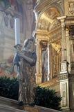 Oblatasken på altaret Arkivfoton