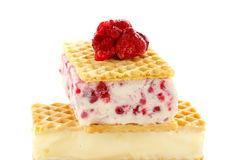 Oblate-Eiscreme lizenzfreies stockbild