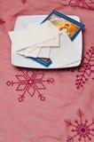 Oblea de la Navidad Fotografía de archivo libre de regalías