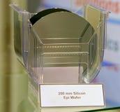 Oblea de silicio Foto de archivo libre de regalías