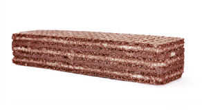 Oblea del chocolate Imagen de archivo
