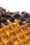 Oblea del chocolate Fotos de archivo libres de regalías