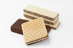 Obleas del chocolate Imagen de archivo