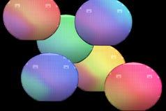 Obleas, silicio Foto de archivo