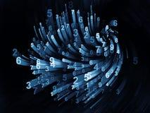 Obliczać Poruszające cyfry Fotografia Stock
