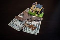 Obliczenie co potrzebuje kupować dom obrazy royalty free