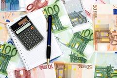 obliczenie finanse Zdjęcie Stock