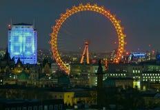 Obliczenie puszek nowy rok 2016 Londyn Zdjęcie Royalty Free