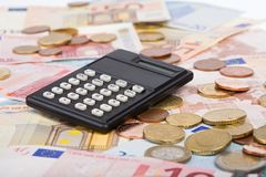 obliczyć swoje zyski Obraz Stock