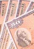 Obligations d'épargne d'épargne sur formules Images libres de droits