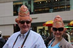 Oblio hats Stock Photo