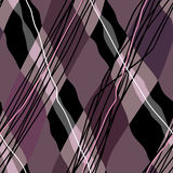 Oblique checked pattern Royalty Free Stock Photos