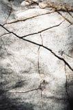 Oblique fissure limestone Royalty Free Stock Photos