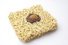 Oblique instance noodle has flavouring on top. Stock Images