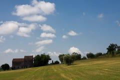 Oblique landscape Stock Image