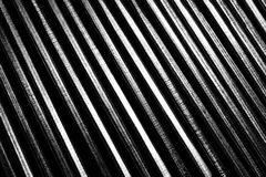 Oblique metal line Stock Photos