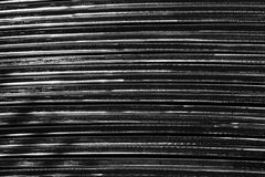 Oblique metal line Royalty Free Stock Photo