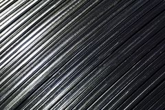 Oblique metal line. Abstract of oblique metal line for background used Stock Photo
