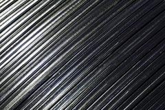 Oblique metal line Stock Photo