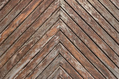 Oblique planks background. Weathered oblique planks texture background Royalty Free Stock Photo