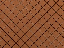 Oblique red tile background Stock Images