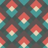 Oblique retro pattern Royalty Free Stock Photos