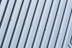 Oblique striped metal sheet Royalty Free Stock Photo