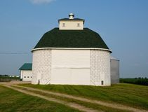 Oblong Corn Crib Stock Photos