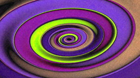 Oblong Ellipses Spinning Geometry  Animation Background stock video